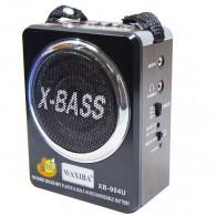 Радиоприемник XB-904 (USB/SD/FM) корич. Waxiba