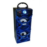 Колонка портативная MS-107BT-А (Bluetooth/USB /SD/FM) синяя