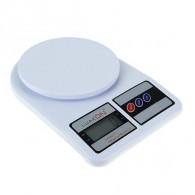 Весы кухонные до 7кг, 2 ААА белые LVK-704 (602993)