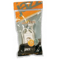 Удлинитель Jazzway EX-02-150 (2роз ,1,5м)