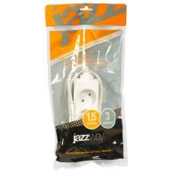 Удлинитель Jazzway EX-03-150 (3роз ,1,5м, 10А)