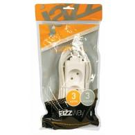 Удлинитель Jazzway EX-03-300 (3роз , 3,0м, 10А)