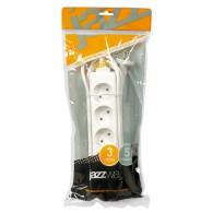 Удлинитель Jazzway EX-05-300 (5роз , 3,0м, 16А)