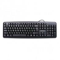 Клавиатура Nakatomi KN-02P PS\2, черная (65683)