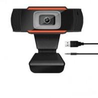 Веб-камера WL-001Y черная (0,3Мп) с микроф.