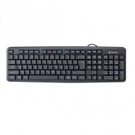 Клавиатура Defender HB-520 Element черная PS/2 /20 (45520)