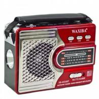 Радиоприемник XB-453 (USB/SD/FM) красный Waxiba