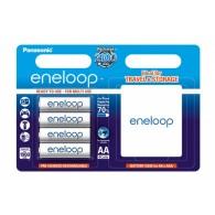 Аккумулятор Panasonic Eneloop R6 1900 Ni-Mh BL 4+футляр