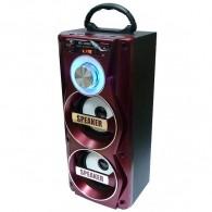 Колонка портативная MS-106BT (Bluetooth/USB /SD/FM) красная