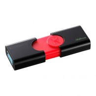 Флэш-диск Kingston 32 GB USB 3.0 Data Traveler DT106 черный/красный