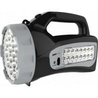 Фонарь Jazzway Accu7-L19/L16 LED черный