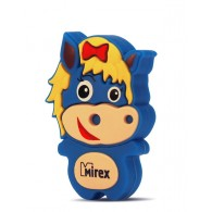 Флэш-диск Mirex 8Gb USB 2.0 Лошадка синяя