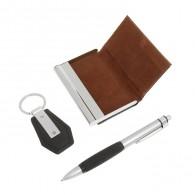 Подарочный набор (ручка+визитница+брелок) (592562)