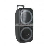 """Колонка портативная 12"""" EL-1212 Dance (Bluetooth/USB /microSD/FM/ПДУ/2 микр)"""