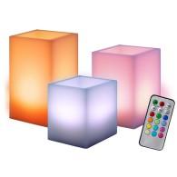 Светильник-свеча Jazzway CL3-RGB-SET3 (комплект)