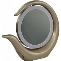Зеркало SmartBuy со светод. подсветкой, золотистое (SBL-Mr-022)
