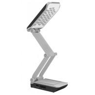 Светильник LED настольный Jazzway Accu3-L36 аккумуляторный черно-серый