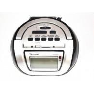 Радиоприемник RX-656Q (USB+SD+пульт) черный