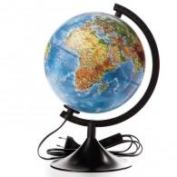 Глобус с подсветкой 21см физическая карта (1072905)