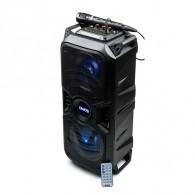 """Колонка портативная 8"""" Dialog AO-11 (Bluetooth/USB /microSD/микроф) черная"""