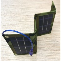 Солнечная панель - З/у - 9Вт (USB, 1000mA, 5,5v)