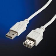 Кабель удлинительный USB2.0 Am-Af SmartBuy 1,8м