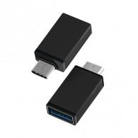 Адаптер OTG USB(гнездо) - Type-C Atom