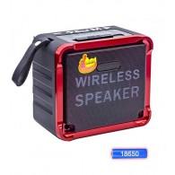 Радиоприемник EPE FP-9036BT (Bluetooth/USB /microSD/FM/акб 18650) красный