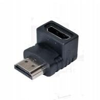 Переходник HDMI - HDMI (шт\гн) угловой Сигнал