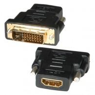 Переходник HDMI (F) - DVI (M) Сигнал