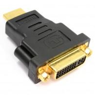 Переходник HDMI (M) - DVI (F) Сигнал