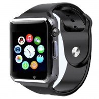 Smart-часы А1 черные (МТК6261)