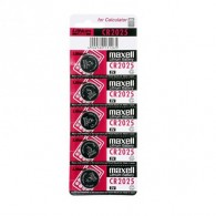 Батарейка Maxell CR2025 BL 5/100