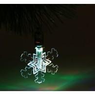"""Подвеска """"Снежинка малая"""" 1 LED, RGB (1077312)"""