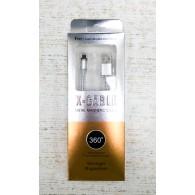 Кабель USB- iPhone5 1м магнитный (только питание!)