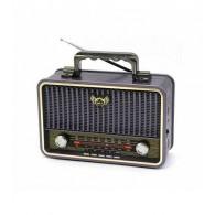 Радиоприемник MD-1908BT (Bluetooth/USB /SD/microSD/FM/акб/4*R20) син Kemai