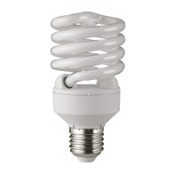 Лампа Jazzway spiral SF2 20Вт (=100W) 827 Т2 E27 теплый свет /50