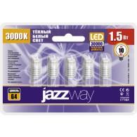 Лампа светодиодная Jazzway PLED-G4 1,5W 5500K 1220 12v AC/DC ( BL* 5)