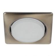 Светильник Эра KL71SB для GX53 бронза квадратный