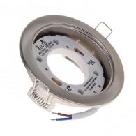 Светильник Ecola PGX53 сатин-хром 106*38мм