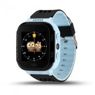 Smart-часы Q65 детские, T7, G100, Q528 с GPS-трекером черно-голубые