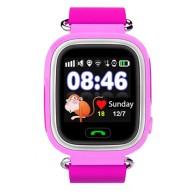 Smart-часы Q90 с GPS и Wi-Fi розовые
