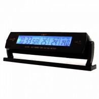 Часы автомобильные VST-7013V (подсветка от прикуривателя)