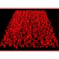 Эл. штора 625 микроламп красных 2,4*1,5м соединяемая (CL625-SR)