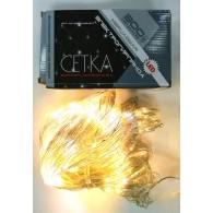 Эл. гирлянда - сетка уличная 300 LED тепл.белый, мигает хол.белым 2*1,5м