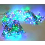 """Эл. гирлянда уличная 800LED """"Дождь"""" RGB, 2х3м, 8 реж.(671676)"""