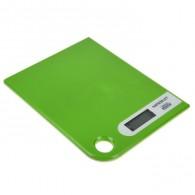 Весы кухонные до 5кг, 2 ААА салатовые Magnit RMX-6180 (1694954)