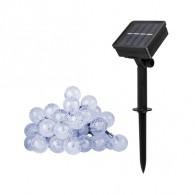 Светильник садовый Фаzа SLR-G05-30W (гирлянда-шарики, белая) 30 диодов