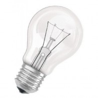 Лампа накаливания Фаzа 75W Е-27 прозрачная, 220v (технолог. упаковка)