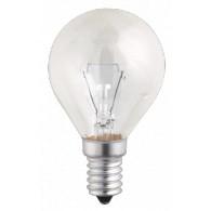 Лампа накаливания Jazzway P45 60W Е-14 прозрачная, 240v